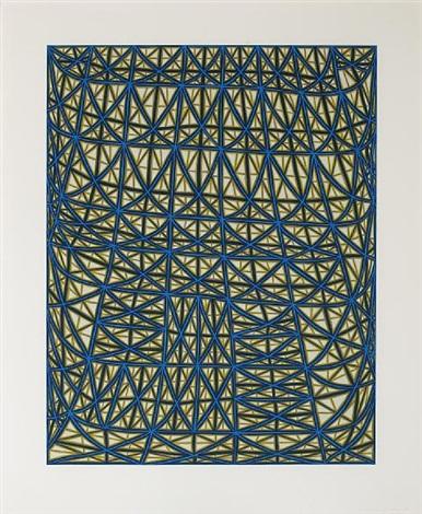 sagging grid by james siena