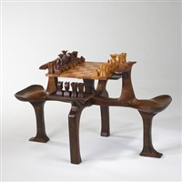 chess table by james camp