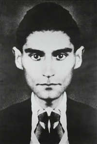 franz kafka (pair from hidden forms) by jiri david