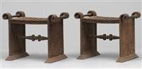 taburetter (pair) by folke bensow