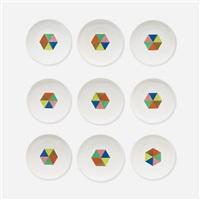 carolus magnus plates (set of 9) by alexander hayden girard