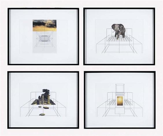 studio per immacolata concezione senza titolosenza autore in 4 parts by giulio paolini