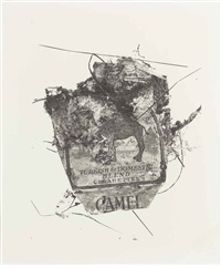 camel pack, 1975 by irving penn