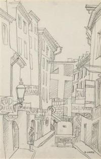 rue en suède by andré lhote