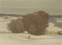 homeward through the snow by egor batalyonak