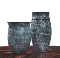 two vases by émile decoeur