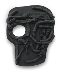 yet to be titled (flat mask) by thomas houseago