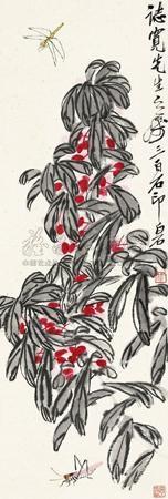 秋声 by qi baishi