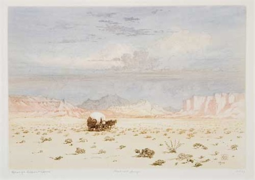 the desert no 1 by george elbert burr