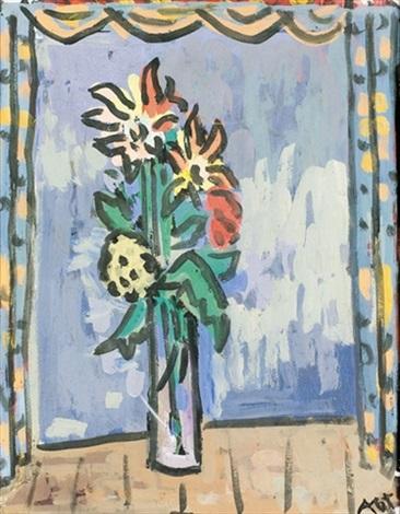 fleurs sur fond claire by otto abt