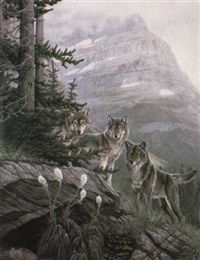 wips of time, wolves by al agnew