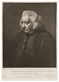 portrait of samuel johnson, l.l.d. by john opie