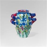 vase mit gedrehten henkeln by vally wieselthier