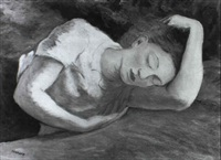 fanciulla che dorme by emilio sobrero