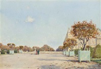 versailles, october by ernest arthur rowe
