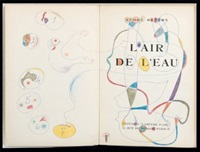l'air de l'eau (bk by andre breton w/1 work) by michel tapié