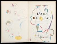 l'air de l'eau (bk by andre breton w/1 work) by michel tapié