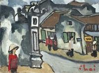 tho lich street, hanoi by bui xuan phai