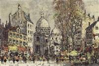 sacre coeur, montmartre, paris by jean remy