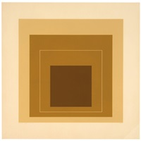 wls xvi (from white line squares) (series ii) by josef albers