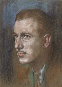 portrait of mr w.b. smith by austin osman spare