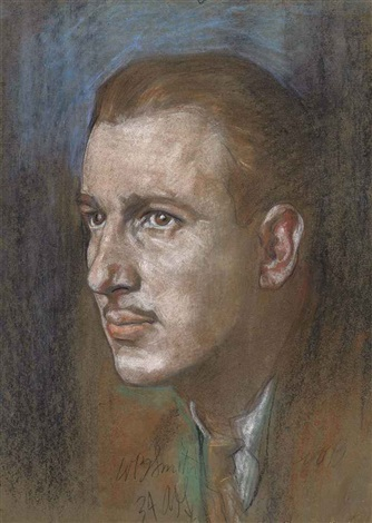 portrait of mr wb smith by austin osman spare