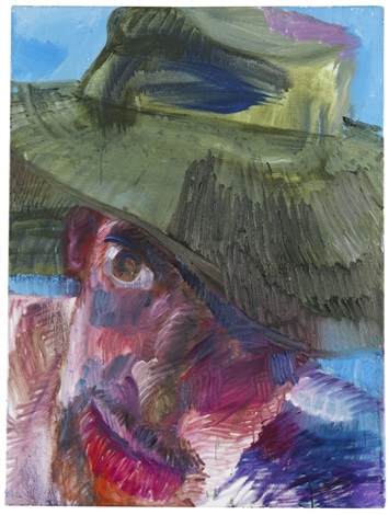 ole puppi mit grünem hut by rainer fetting