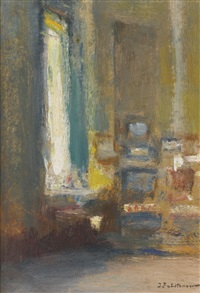 coin du salon by ivan pavlovich pokhitonov