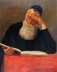 rabbi learning by lazar krestin