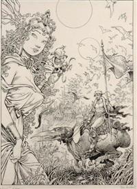 la quête de l'oiseau du temps by mohamed aouamri
