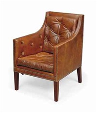 a 'nelson' desk chair by david linley