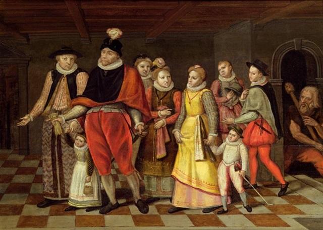 die familie heinrichs i herzog von guise by françois bunel the elder