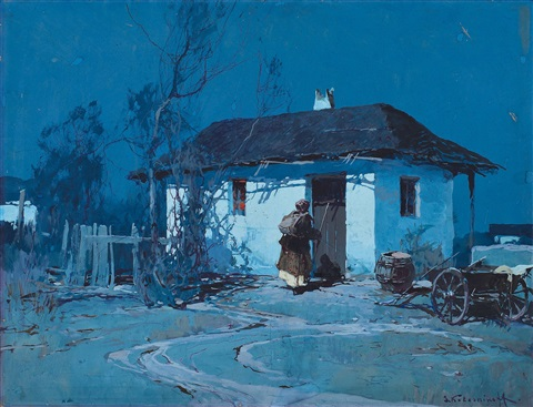 night in ukraine by stepan feodorovich kolesnikov