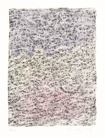 composition with lines by mark tobey
