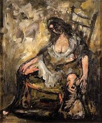 mujer en abandono by fermin santos