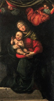 maria mit dem christuskind by mariotto albertinelli
