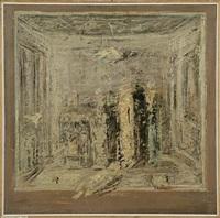 interno con oggetti by giancarlo ossola