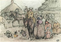 soldiers by robert polhill bevan