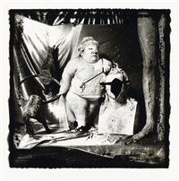 portrait of a dwarf by joel-peter witkin