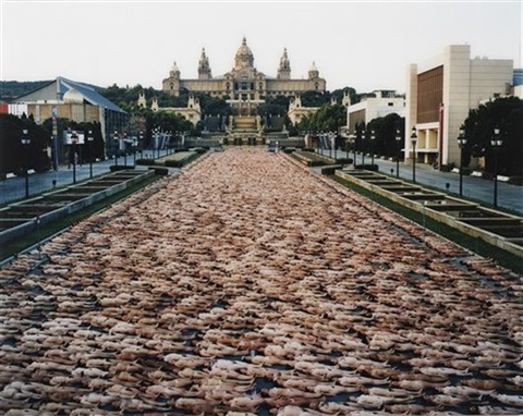 barcelona i by spencer tunick