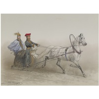 a sleigh ride by adolphe josefovich charlemagne