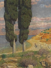 italienische küste by hans lietzmann