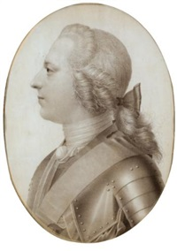 portrait of prince charles edward stuart by giles hussey