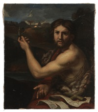 st. john the baptist pointing to christ by italian school (16)