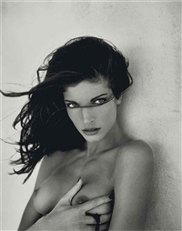 stephanie seymour for playboy (25 works) by sante d'orazio