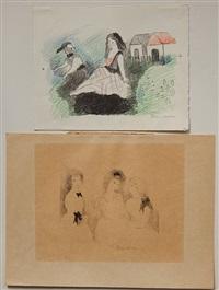 les trois soeurs by marie laurencin