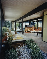 case study house, los angeles by julius shulman