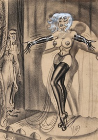 untitled - showgirl by bill ward