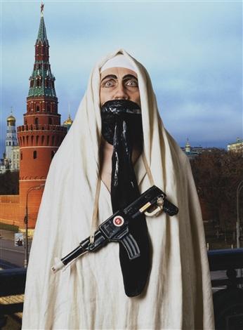 mona lisa bin laden and tutankhamun 3 works by vladislav mamyshev monroe