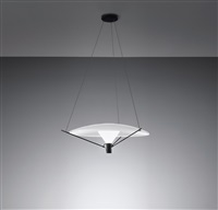 ceiling light, model 2047b by gino sarfatti